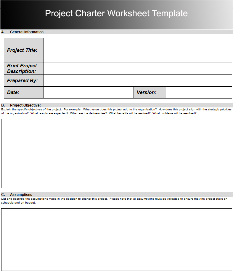 8+ Project Charter Templates Free Word, PDF, Excel Formats - project charter template