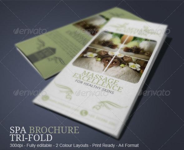 Spa Brochure Templates Free  Premium Templates