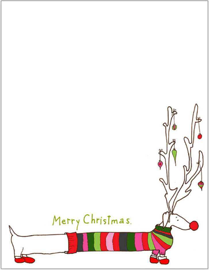 templates for christmas letters - 28 images - blank letter from - christmas letter templates
