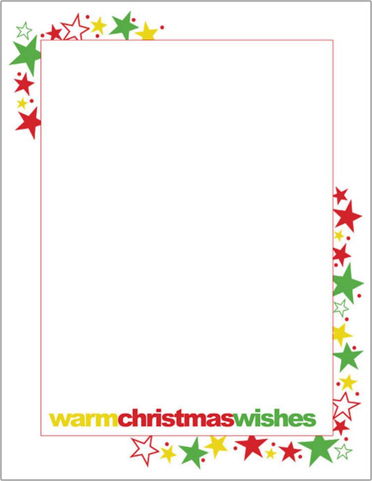 17+ Christmas Letter Templates \u2013 Free PSD, PDF Format