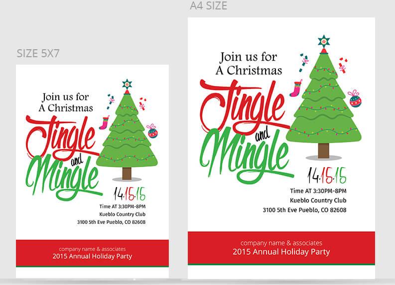 Christmas Party Flyer Templates  PSD Designs Free  Premium
