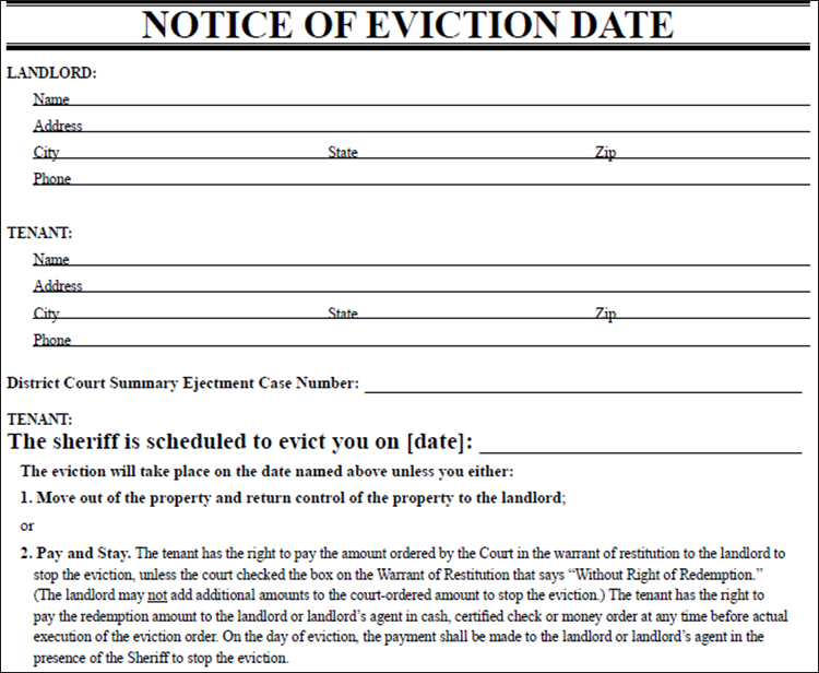28+ Lease Termination Letter Template Free Word, PDF, Format Examples - eviction notice template free