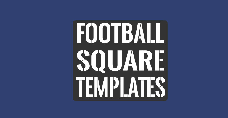 33+ Printable Football Square Templates Free Excel, Word Formats