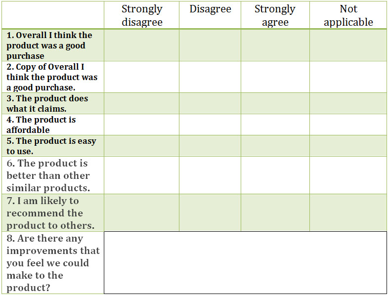29+ Likert Scale Templates Free Excel, Doc Examples - Likert Scale Template