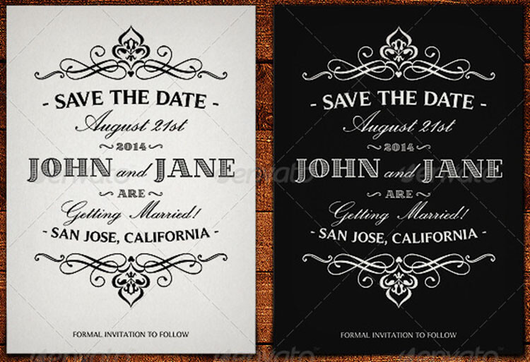 10+ Save The Date Card Templates Free Word Design Ideas