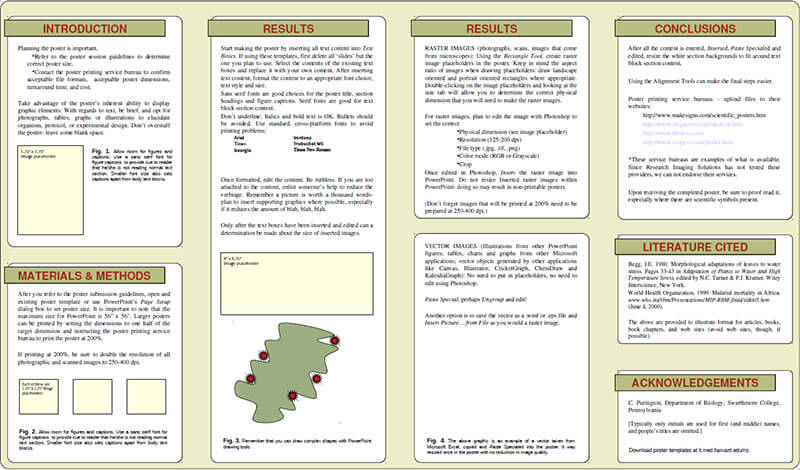 14+ Scientific Research Poster Templates Free PPT, PDF Design Formats - scientific poster layouts