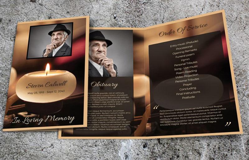 Free Obituary Template Blank Obituary Template Doc File Download