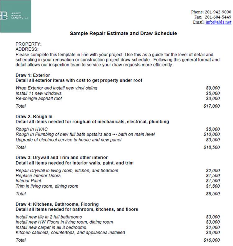 10+ Sample Estimate Templates Free Word, PDF, Excel Formats