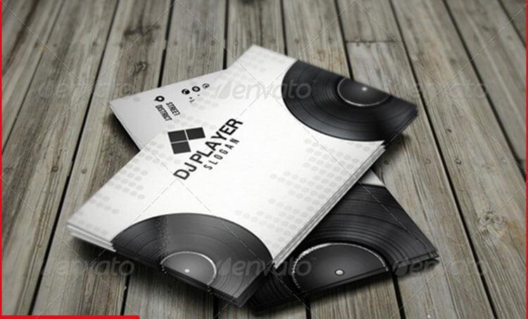 32+ DJ Business Card Templates Free Download - Creativetemplate