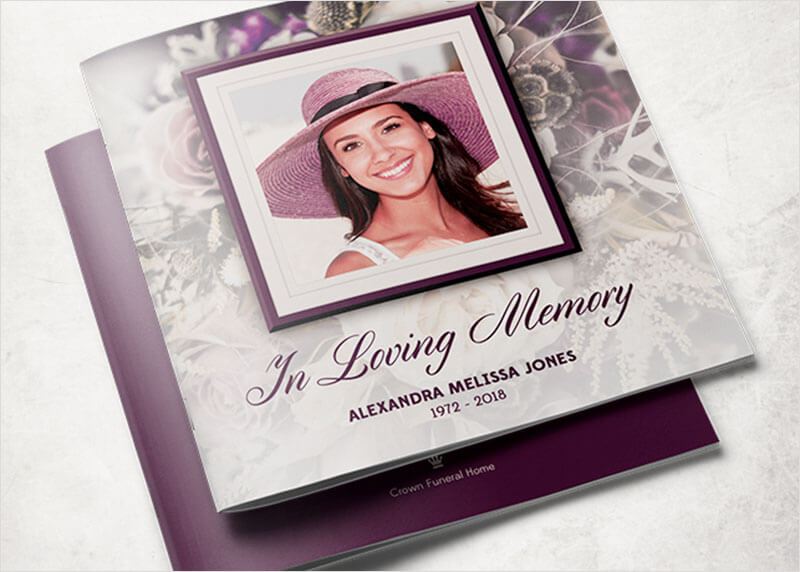 Free Template Funeral Program Gallery - template design free download - free funeral programs downloads