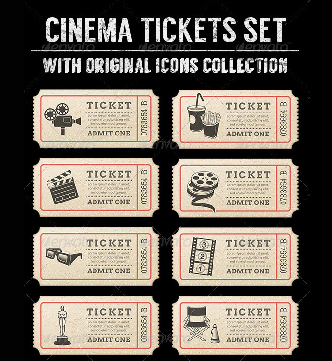 21+ Free Movie Ticket Templates - Creative Template Creative - movie ticket template