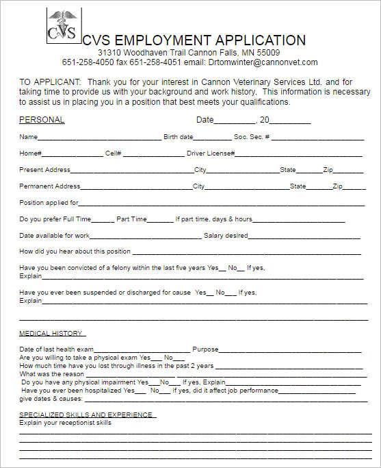 190+ Job Application Form Free PDF, Doc, Sample Formats