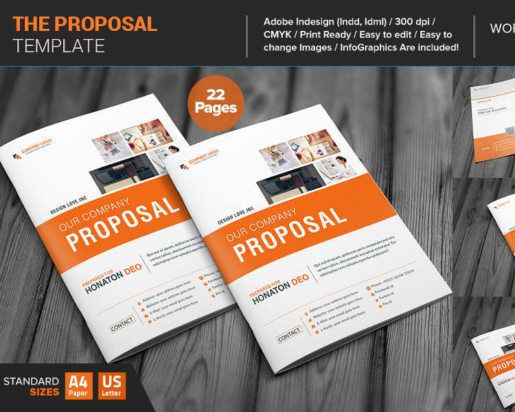 Business Proposal Template Free Word, PDF, PPT, Doc Formats