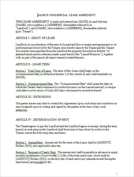 29+ Rental Agreement Form Free Word, PDF Templates - yearly contract template