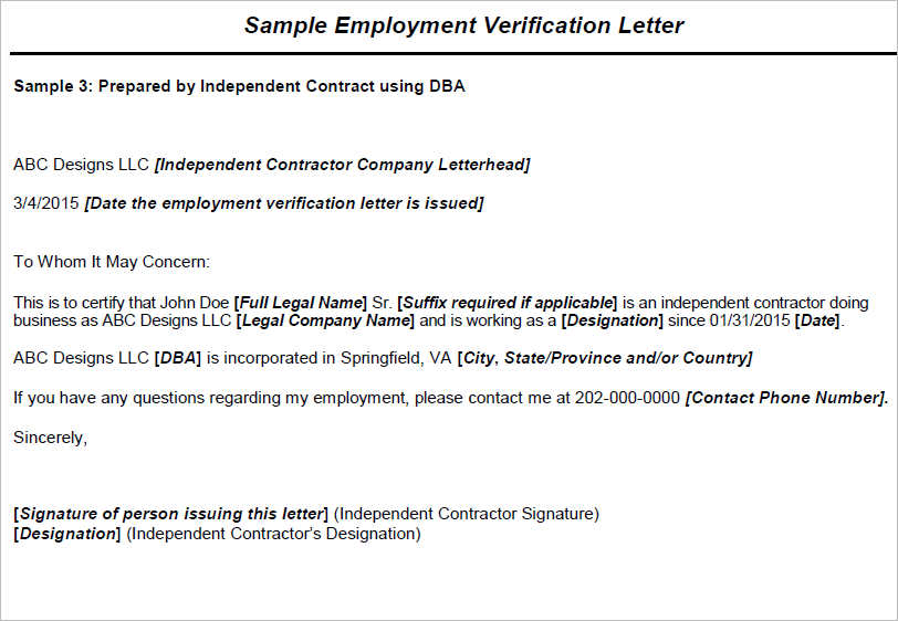 16+ Employment Verification Letter Free Word, PDF, Doc Formats