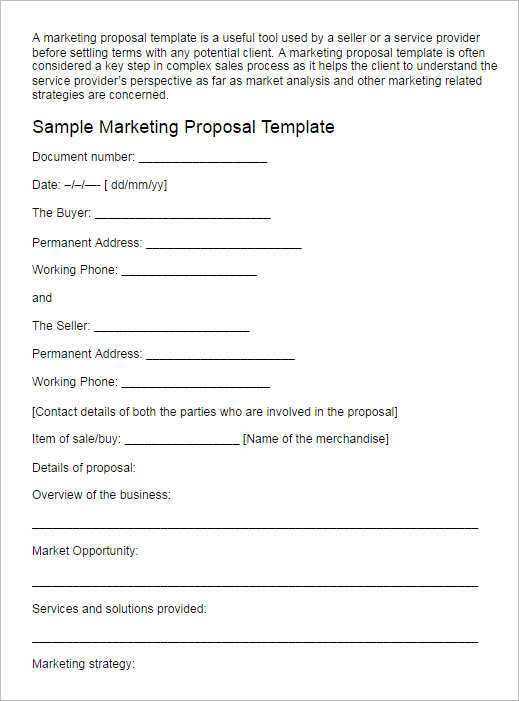 128+ Business Proposal Template Free Word, PDF, PPT, Doc Formats - proposal template in word