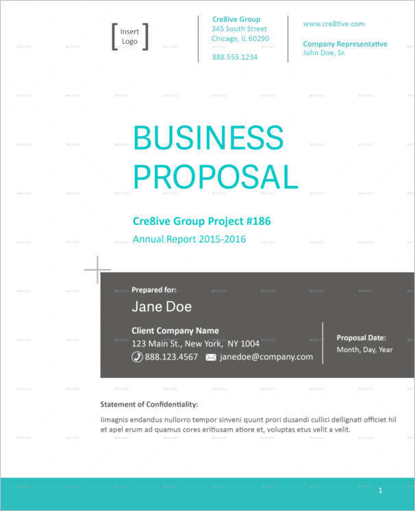 128+ Business Proposal Template - Word, Sample, PDF, Format - microsoft business proposal template