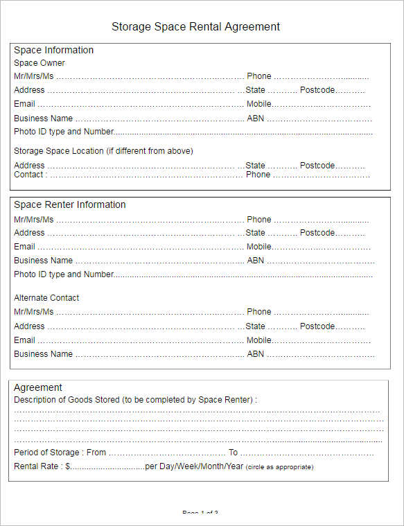Rental Lease Agreement - 282+ Free Word, PDF, Excel, Format - lease agreement