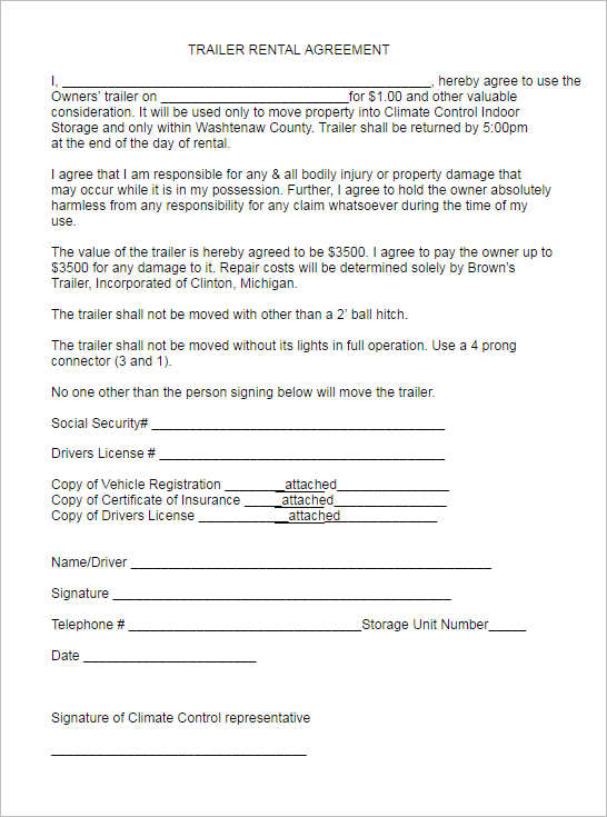 282+ Rental Lease Agreement Free PDF, Sample, Word Formats - rental agreement letter template