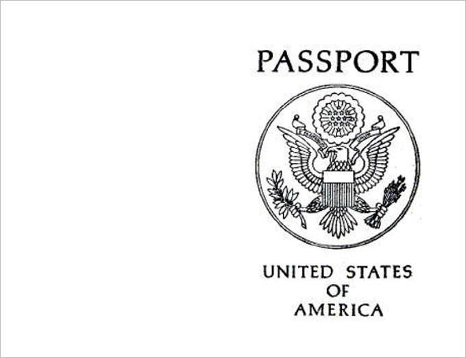 Free Passport Template For Kids | kicksneakers.co
