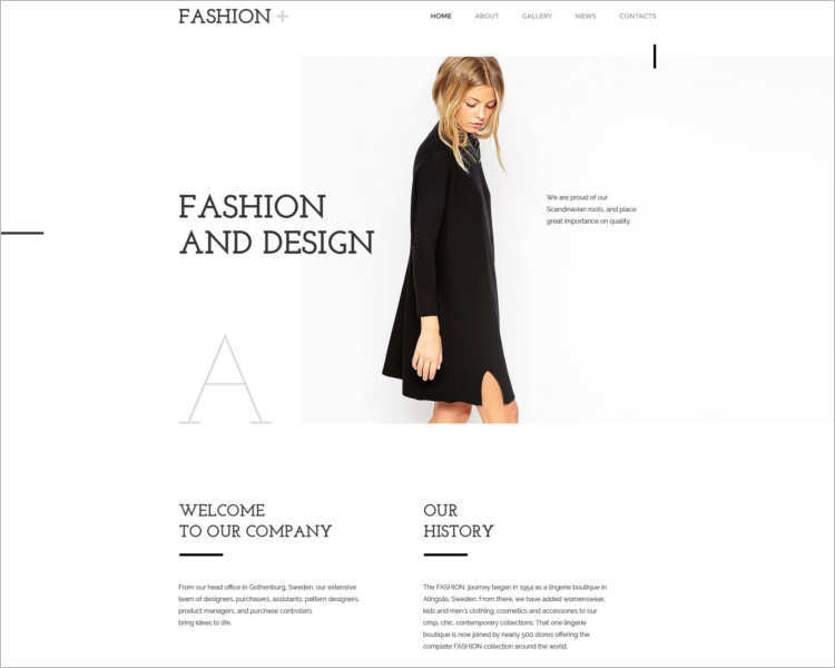 77+ Fashion Designer Website Themes Free Templates