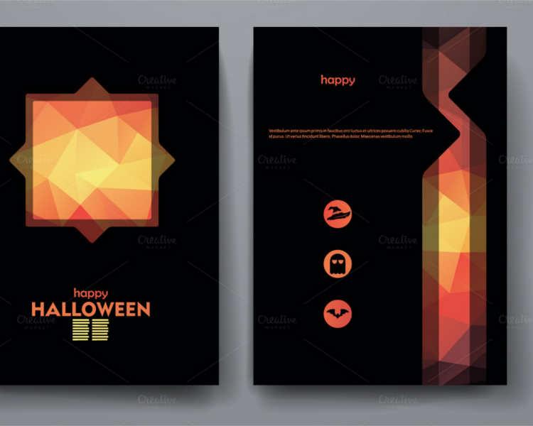 Halloween Brochures Free  Premium Brochures - blank halloween flyer templates