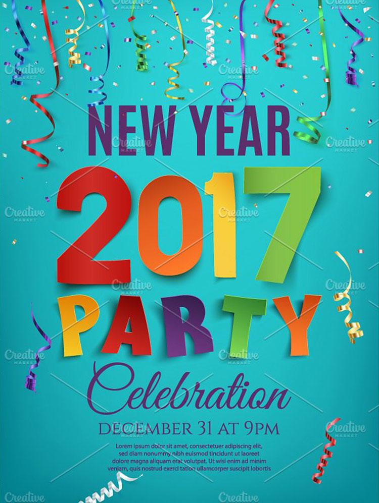 6+ New years Eve Poster Templates Free Design Templates - new year poster template