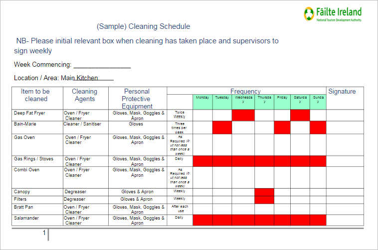 77+ Work Schedule Templates Free Word, Excel, PDF Formats