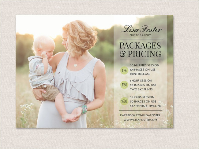 30 Photography Flyer Templates Free Word Psd Designs