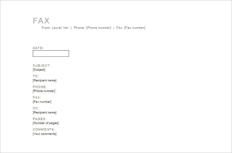 26+ Fax Cover Sheet Templates Free Word, PDF Formats - fax cover sheet templates