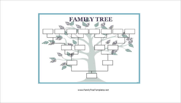 creative family tree template