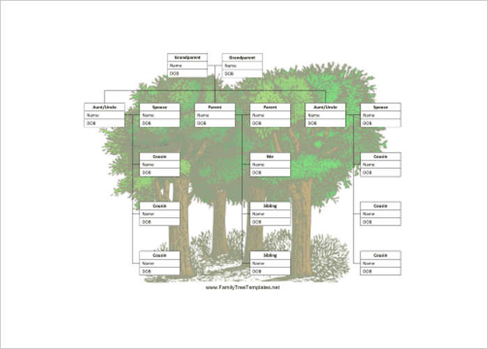 18+ Family Tree Templates Free PPT, Excel, Word Formats - family tree template for word