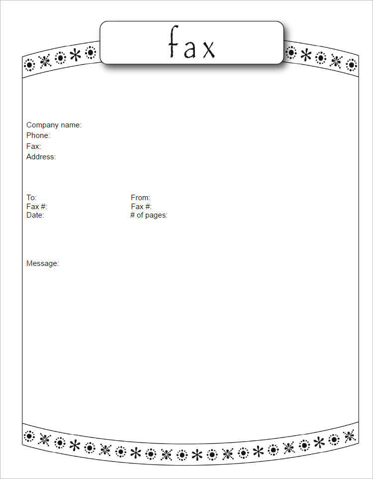Generic fax cover sheet template - visualbrainsinfo - generic fax cover sheet sample