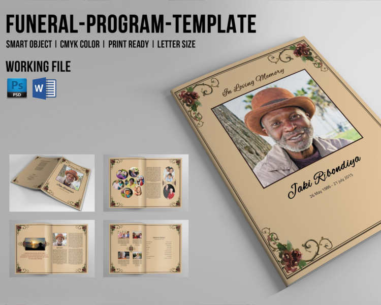 8+ Funeral Booklet Templates Free Word, PDF Docs Download