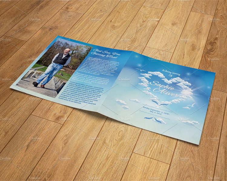 57+ Funeral Program Templates Free Word, PDF, PSD, Doc Samples - printable funeral program templates