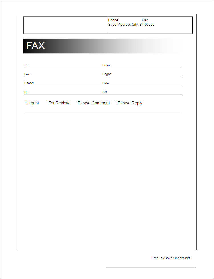 26+ Fax Cover Sheet Templates Free Word, PDF Formats - Fax Cover Sheet For Word