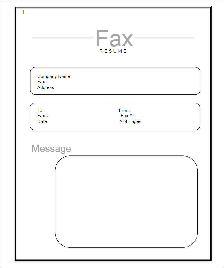 19+ Fax Cover Sheet Free Word, PDF, Doc, Example Templates - sample urgent fax cover sheet
