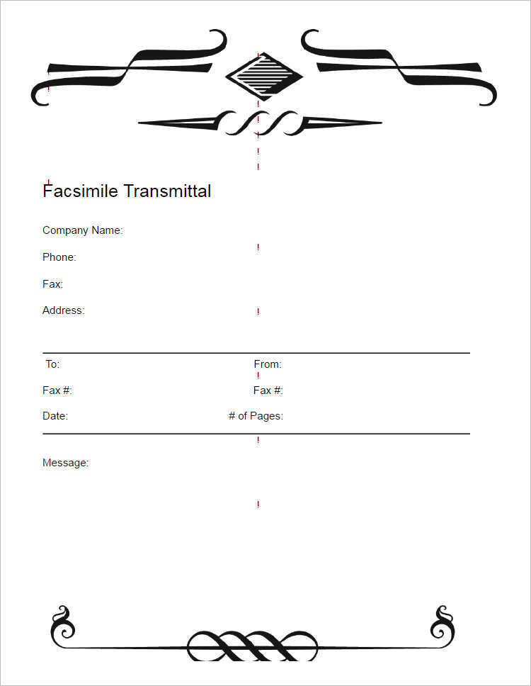 19+ Fax Cover Sheet Free Word, PDF, Doc, Example Templates