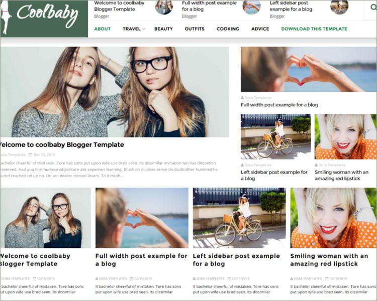 27+ Free Blogger Templates 2018 Download Creative Template
