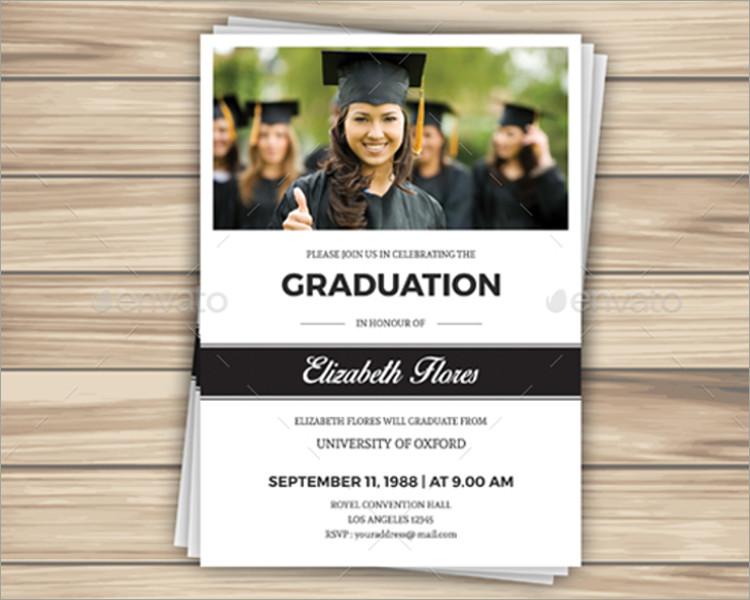 26+ Graduation Invitation Templates Free \ Premium Creative - graduation invitation template