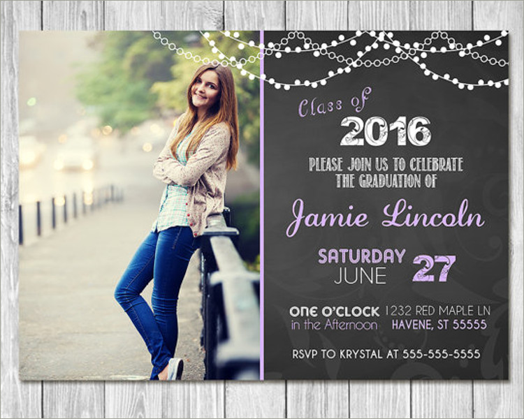 26+ Graduation Invitation Templates Free \ Premium Creative - graduation invitation template