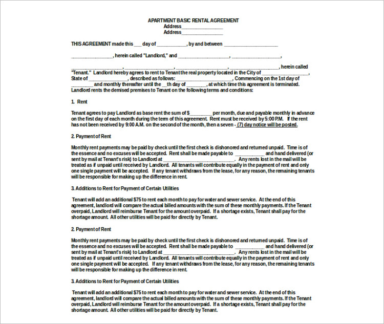 Sample House Lease Agreement  NodeCvresumePaasproviderCom