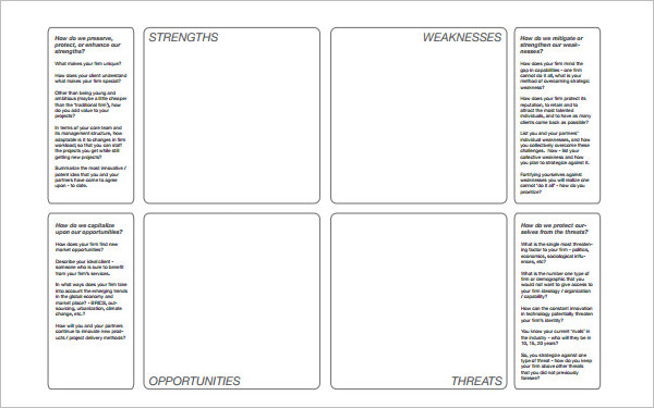 16+ Swot Analysis Template Free Word, PDF, Excel, Doc Formats - competitors analysis template