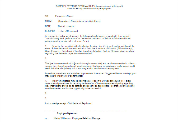 write up forms for employees templates the-links - employee write up form