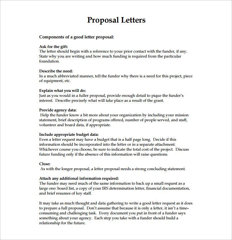 Proposal Letter Pdf  NodeCvresumePaasproviderCom