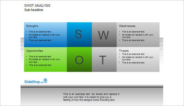 Swot Analysis Template - Free Word, PDF, Sample Creative Template - swot analysis example