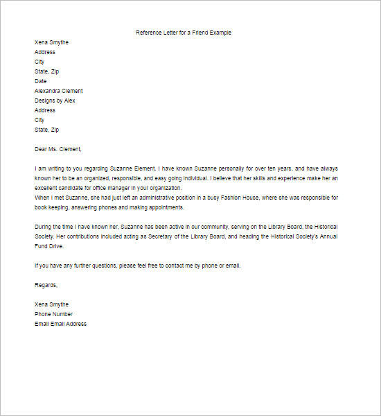 55+ Recommendation Letter Template Free Word, PDF Formats
