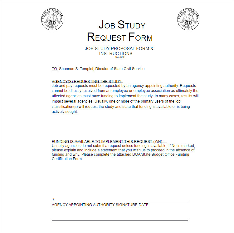 20+ Job Proposal Templates - Free Word, Doc, Excel Document Examples - job proposal template