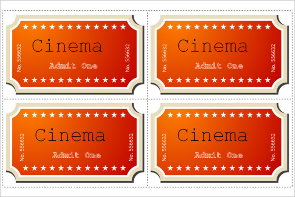 34+ Raffle Ticket Template - Free Word, PDF, PSD, Doc Sample Formats