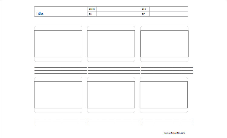 70+ Storyboard Templates - Free Word, PDF, PPT Documents Download - storyboard template pdf